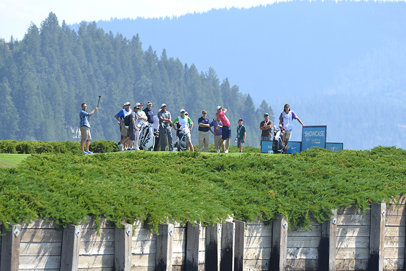 the Showcase 2014 Celebrity Golf Fundraiser Event - Coeur d'Alene, ID