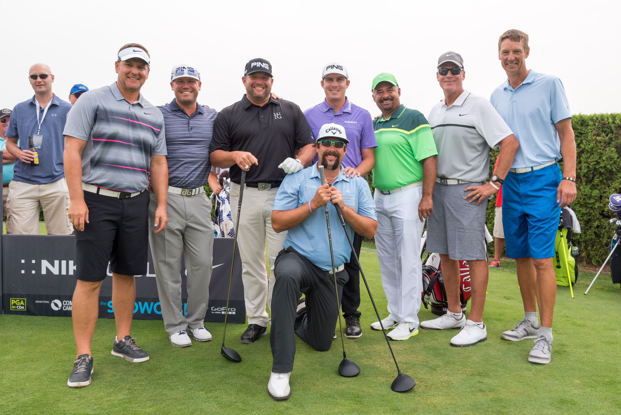 the Showcase 2015 Celebrity Golf Fundraiser Event - Coeur d'Alene, ID