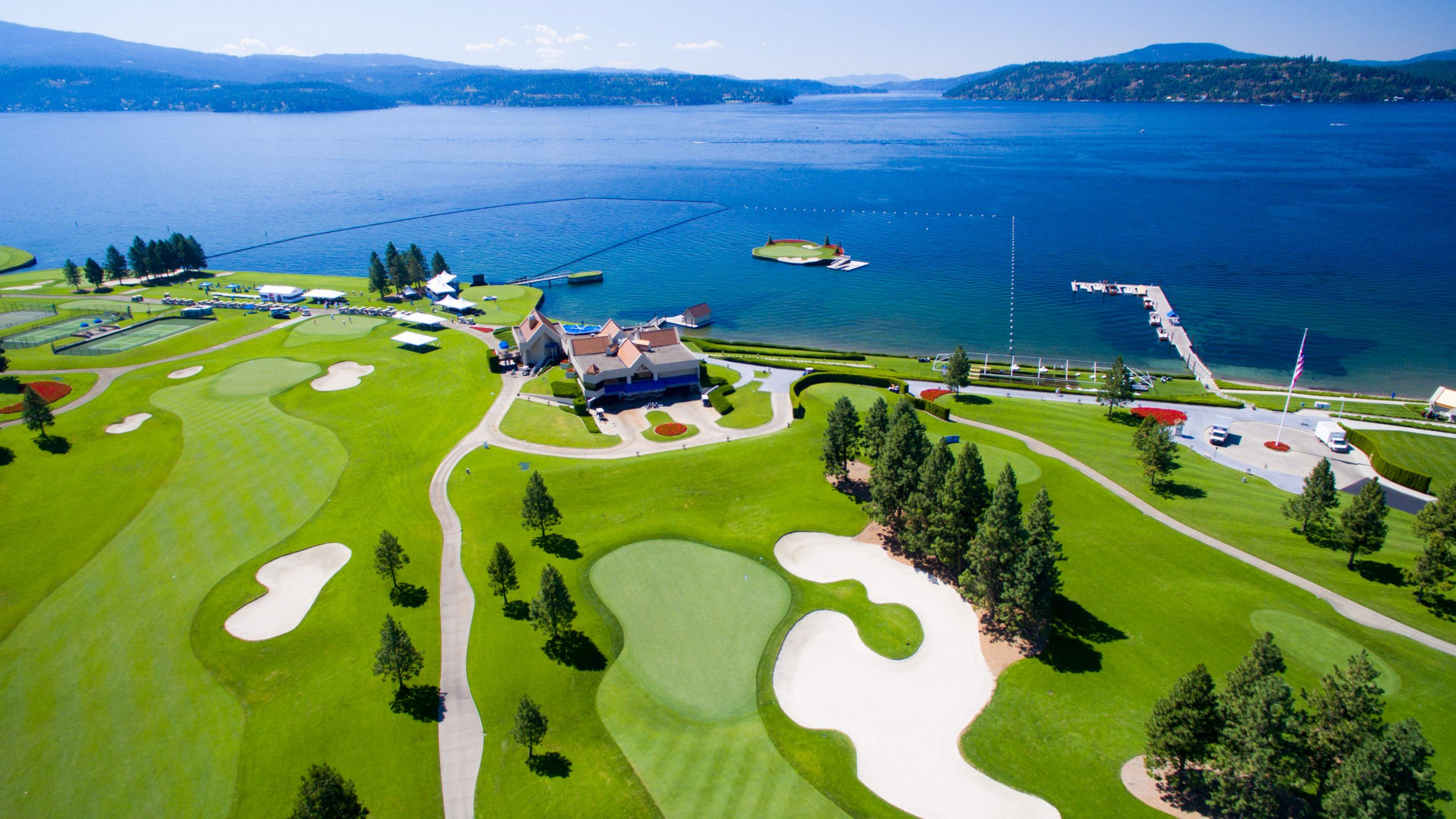 the Showcase 2016 Celebrity Golf Fundraiser Event - Coeur d'Alene, ID