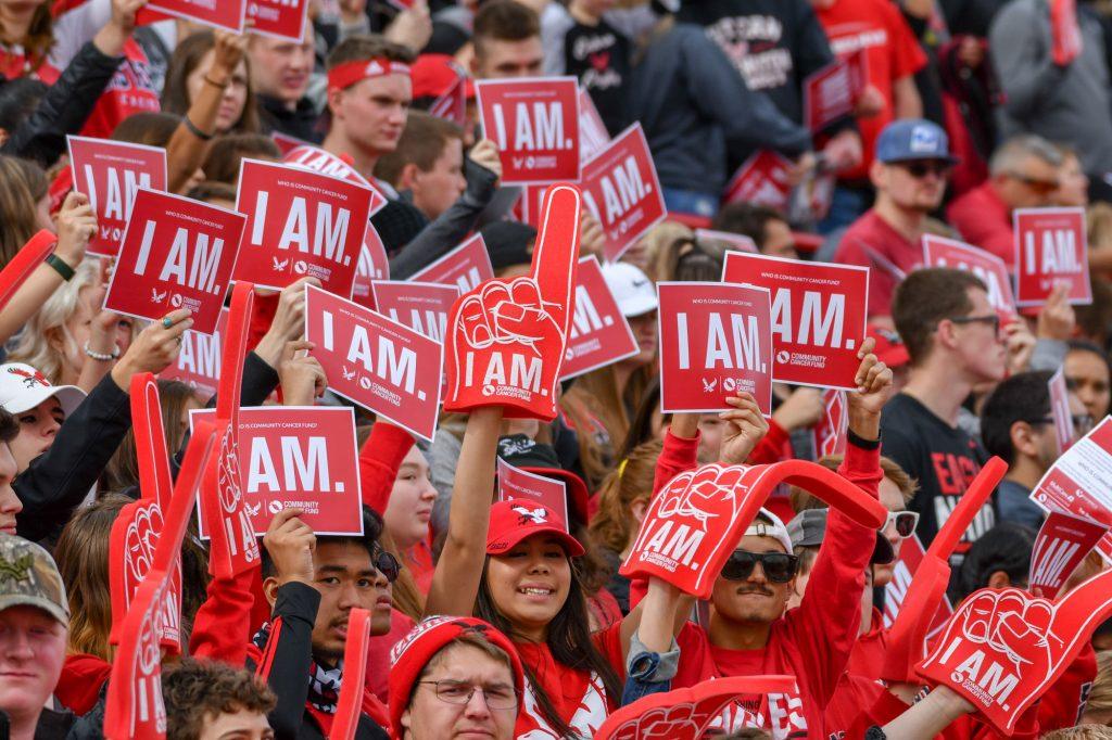 EWU Eags Believe Crowd I AM