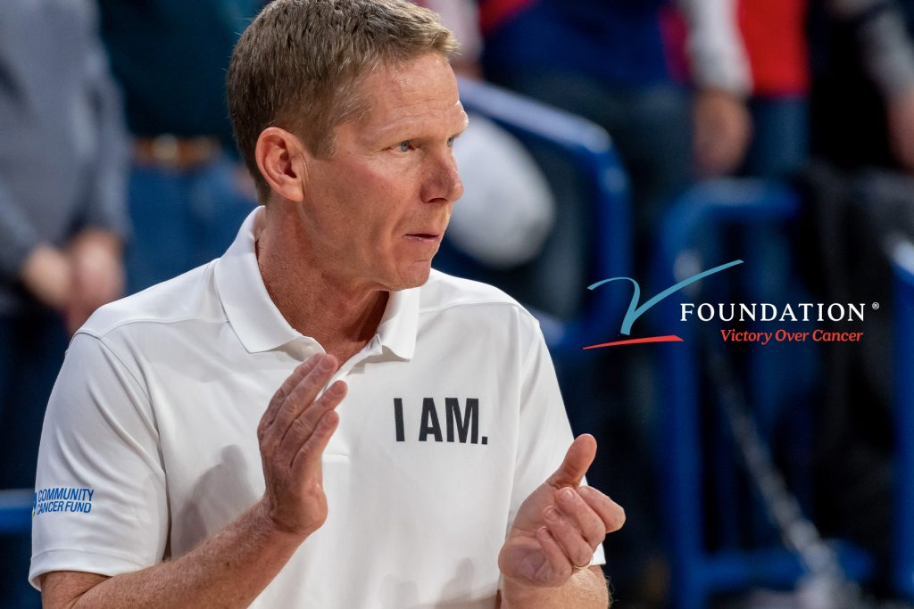 Mark Few Honred at Dick Vitale Gala for V Foundation