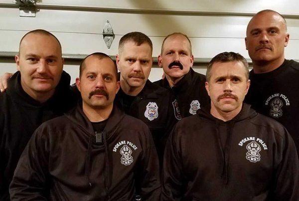Spokane Police No Shave November